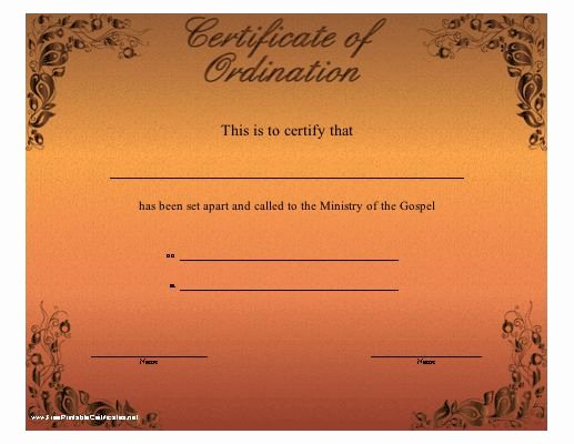 Certificate Of License for the Gospel Ministry Template Fresh 24 Best Church Certificaes Images On Pinterest