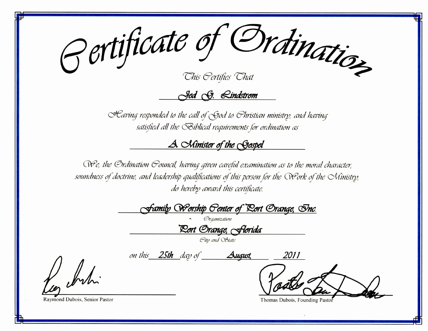 Certificate Of ordination Template Fresh Certificate Of ordination by Ia Magazine issuu