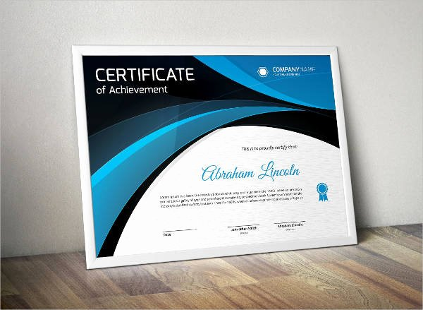 Certificate Of organization Nebraska Template Inspirational Free 24 Modern Certificate Examples & Samples In Word