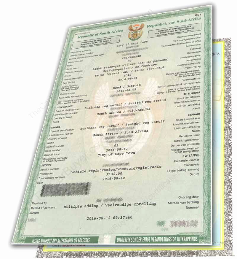 Certificate Of origin for A Vehicle Template Luxury Vehicle Registration Certificate Cars Papers south