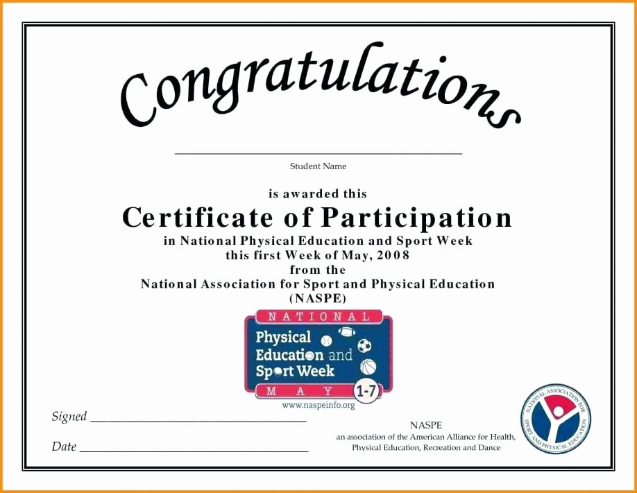 Certificate Of Participation Pdf Awesome Picture Certificate Appreciation Wording for Doctors