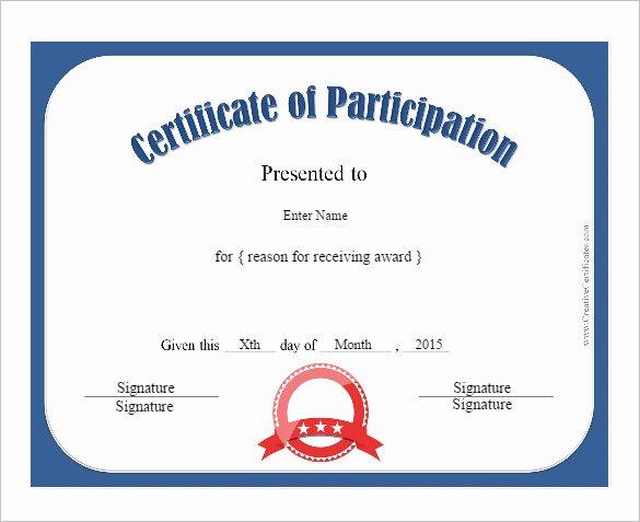 Certificate Of Participation Pdf Elegant Fashion Show Certificate Design
