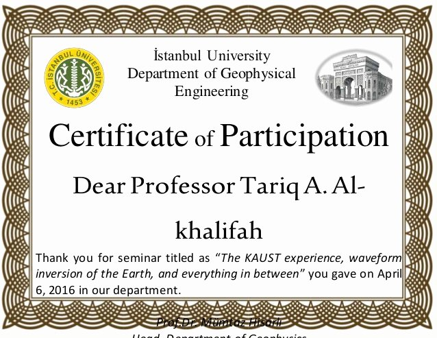 Certificate Of Participation Sample Best Of Sample Certificate