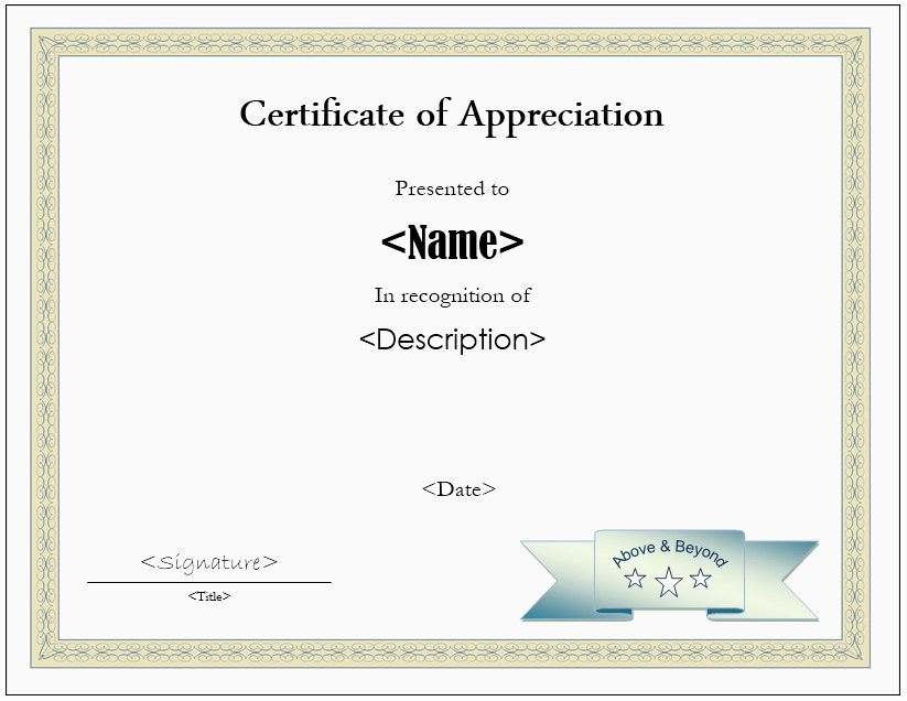 Certificate Of Participation Sample Lovely 11 Free Sample Participation Certificate Templates