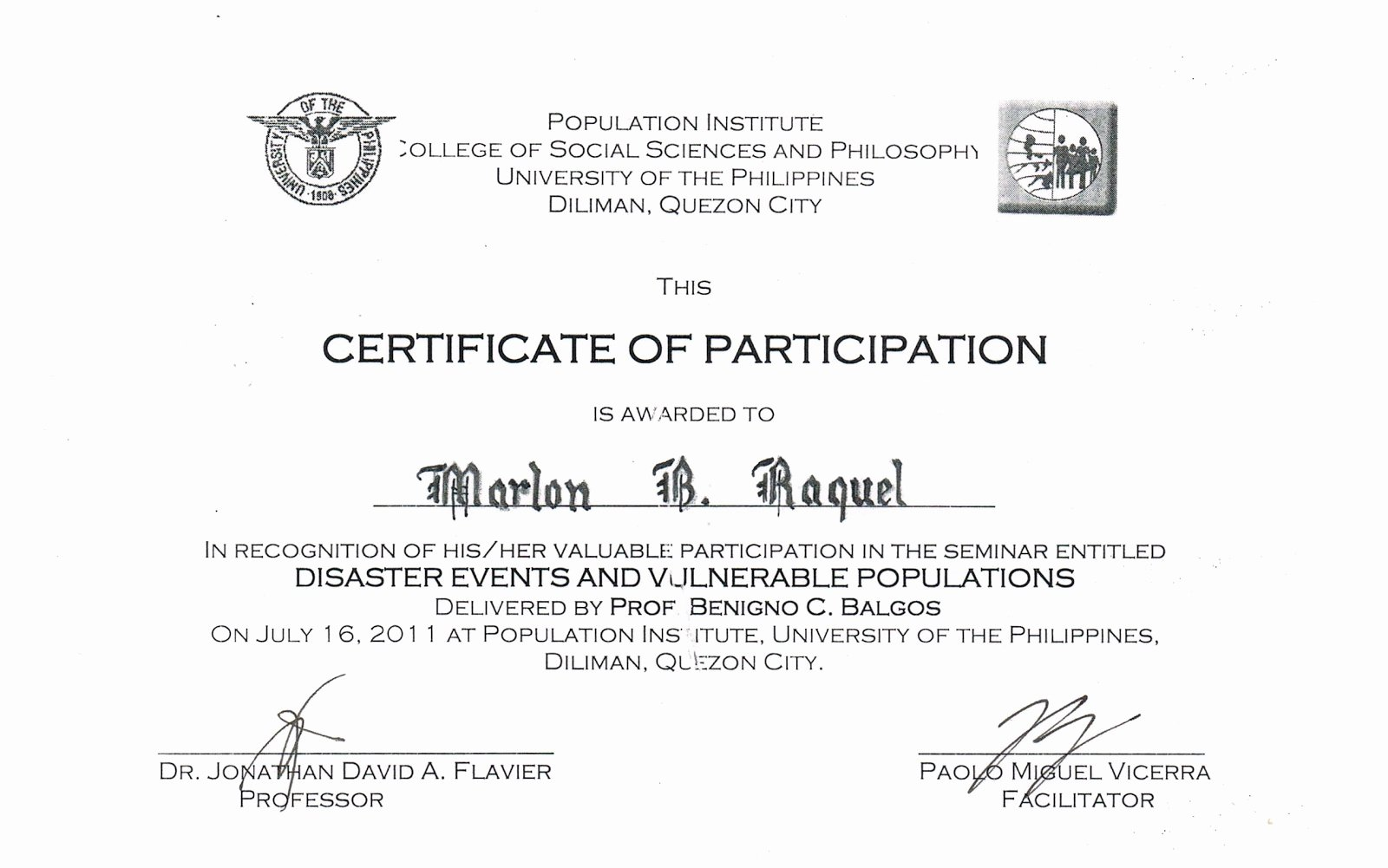 Certificate Of Participation Template Doc Fresh Tidbits and bytes Example Of Certificate Of attendance