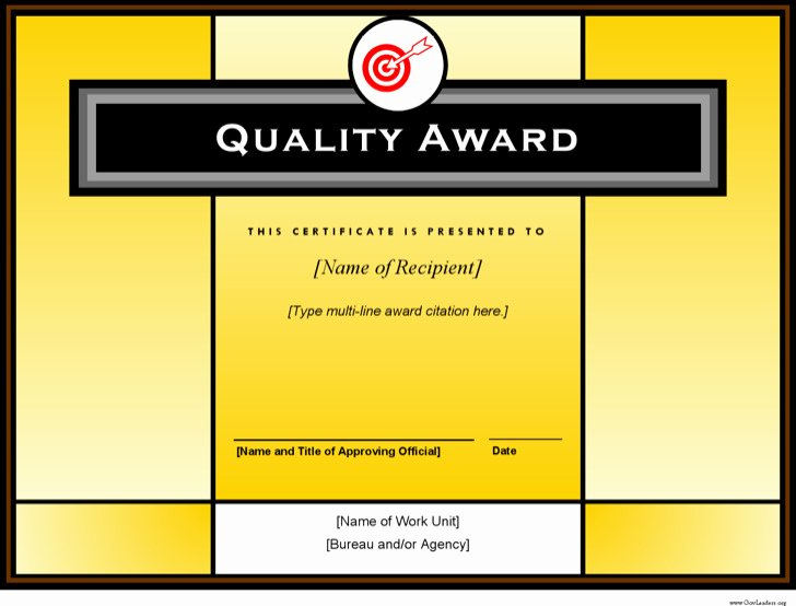 Certificate Of Quality Template Best Of Sample Printable Certificate Templates