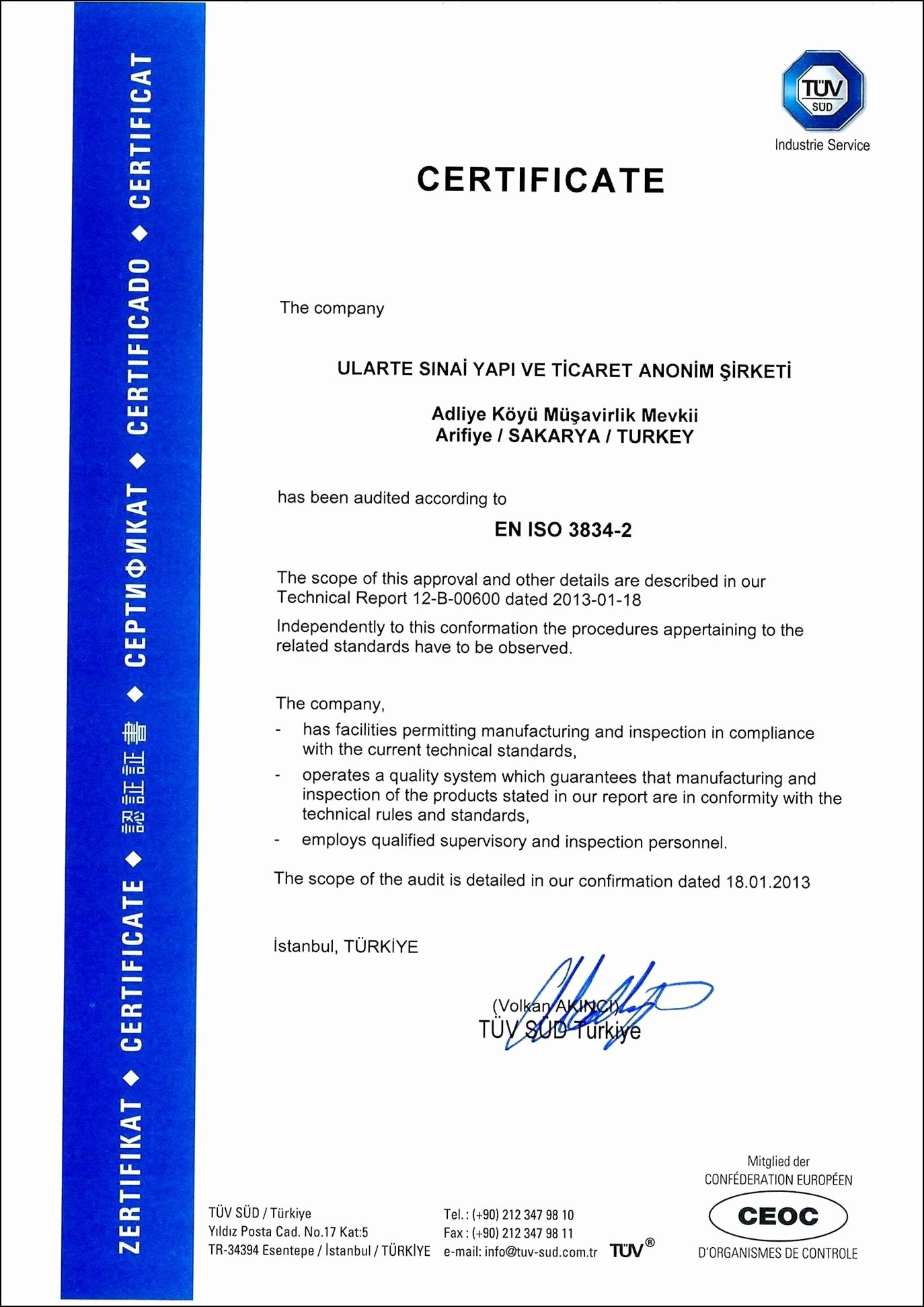 Certificate Of Quality Template Fresh Nihss English Group B V3 2nd Certification Answers