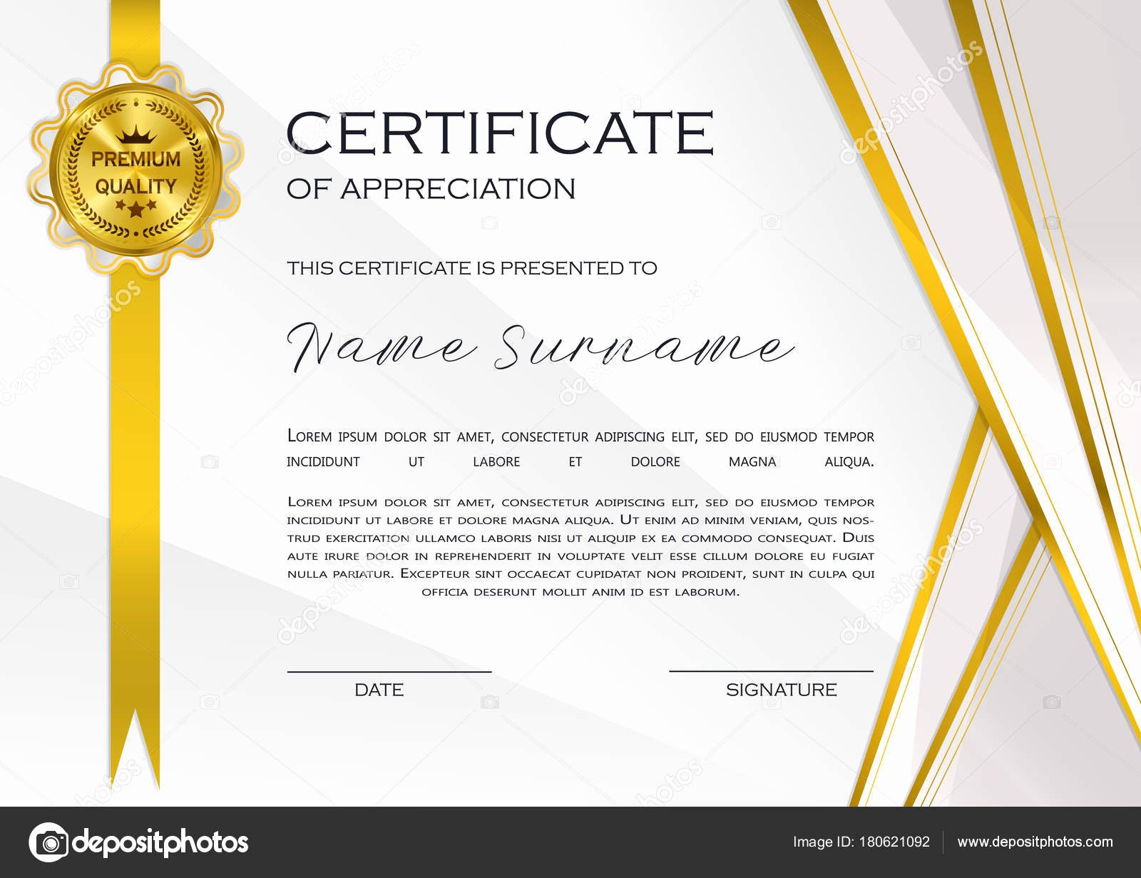 Certificate Of Quality Template Lovely Qualification Certificate Appreciation Design Elegant