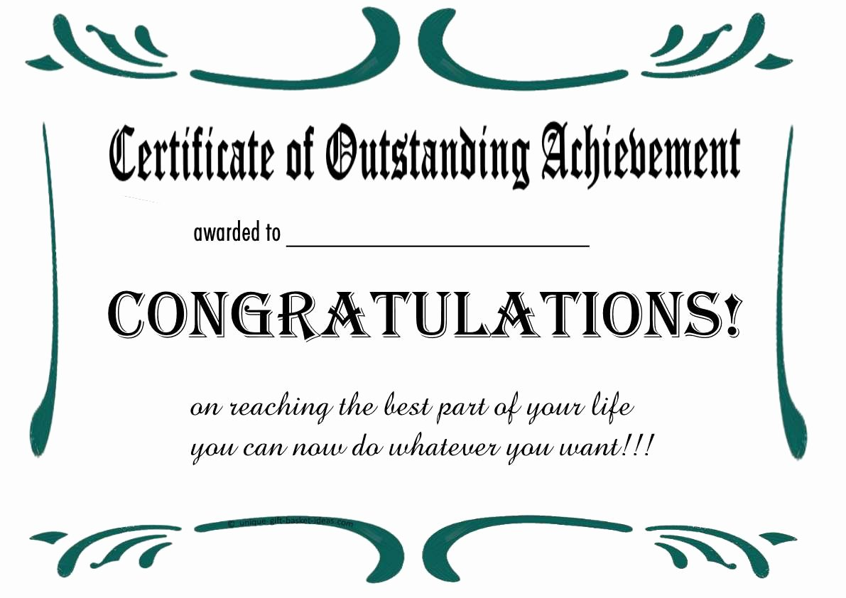 Certificate Of Retirement Template Elegant Free Printable Certificates and Awards to Include In Your