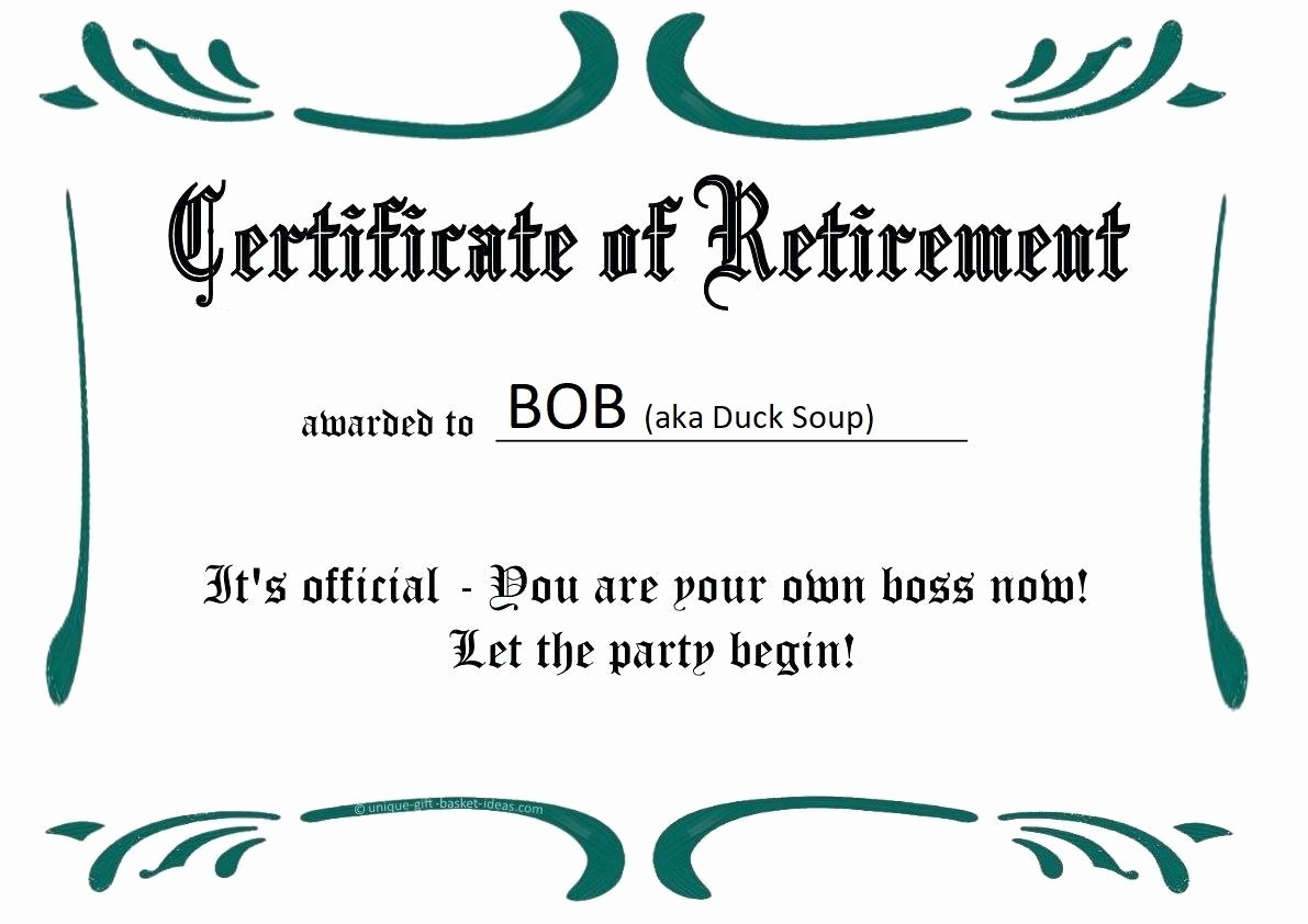 Certificate Of Retirement Template Inspirational Good Monday Morning Patriot Woodworkers October 1 2018