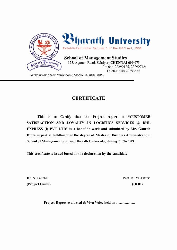 Certificate Of Satisfaction Template Best Of Customer Satisfaction