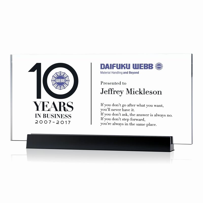 Certificate Of Service Sample Awesome 10 Years Of Service Certificate Plaque Wording 576 1