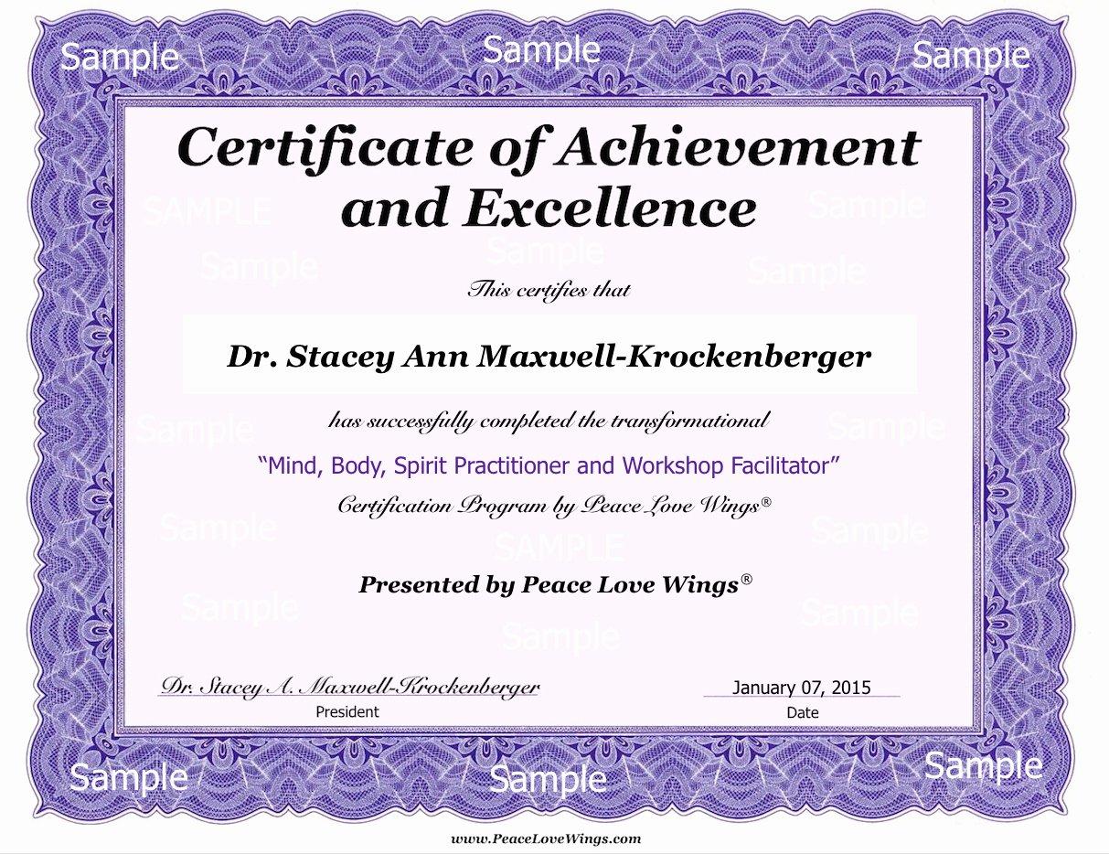 Certificate Of Service Sample Luxury Certificate Of Pletion Sample