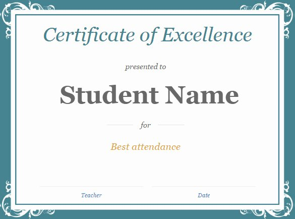Certificate Template for Google Docs Elegant 12 Google Docs Templates Doc