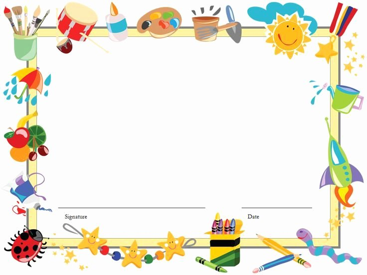 Certificate Template for Kids Fresh Certificate Template for Kids Editable Free Diploma