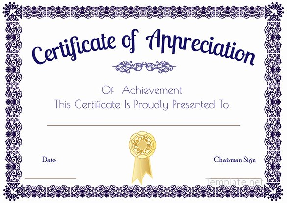 Certificate Template Google Docs Awesome Certificate Template – 41 Free Printable Word Excel Pdf