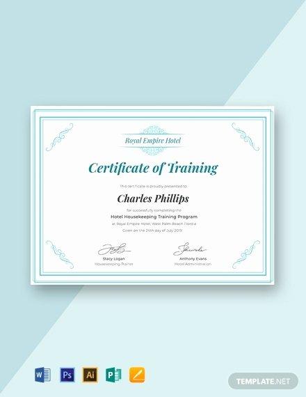 Ceu Certificate Of attendance Template Fresh 12 Free Training Certificate Templates Word