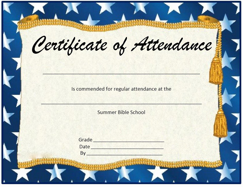 Ceu Certificate Of attendance Template Lovely Copy Certificate attendance Sample Text