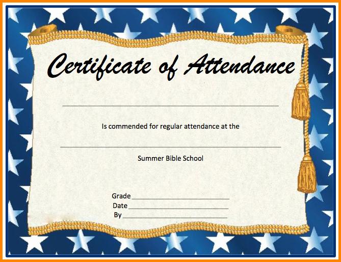 Ceu Certificate Of attendance Template Luxury 6 Certificate Of attendance Template