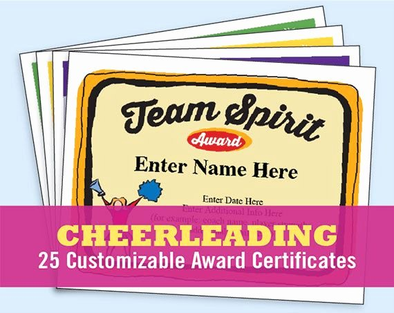 Cheer Awards Certificates Ideas Beautiful 14 Best Cheerleading Quotes Slogans and Award Certificate