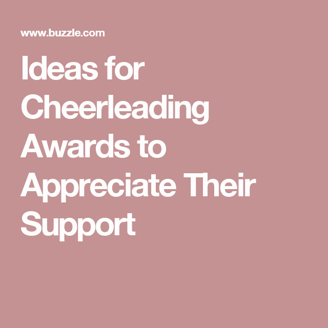 Cheer Awards Certificates Ideas Elegant Ideas for Cheerleading Awards to Appreciate their Support