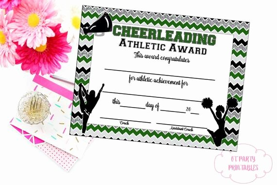Cheer Awards Certificates Ideas Lovely Cheerleading Certificate Cheerleading Award Cheerleading