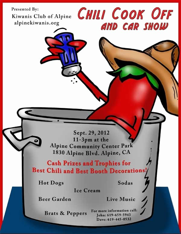 Chili Cook Off Award Certificate Template Awesome 18 Best Images About Chili Supper On Pinterest