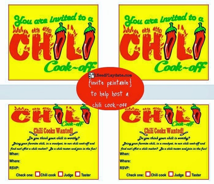 hosting chili cook off in 5 easy steps