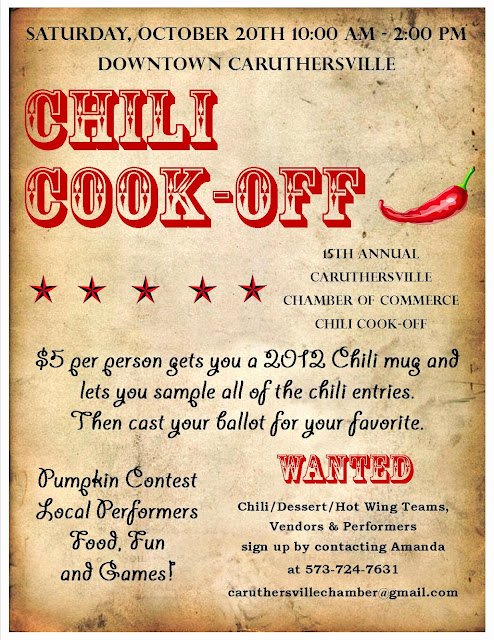 Chili Cook Off Certificate Template Awesome Caruthersville Chamber Of Merce 15th Annual Chili Cook Off