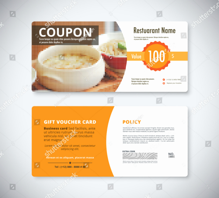 Chinese Restaurant Gift Certificate Template Lovely 29 Restaurant Promo Card Templates