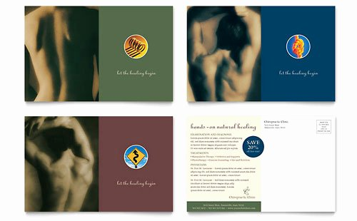 Chiropractic Gift Certificate Template Beautiful Chiropractor & Massage therapist