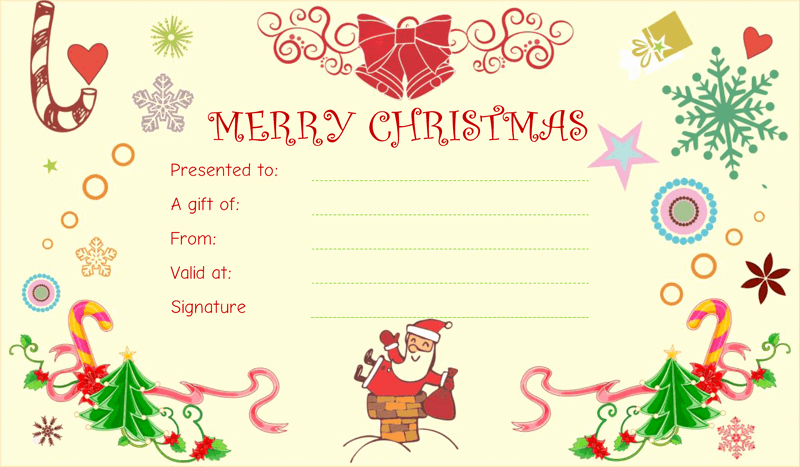 Christmas Award Certificate Template Elegant 28 Of Christmas Award Template Free