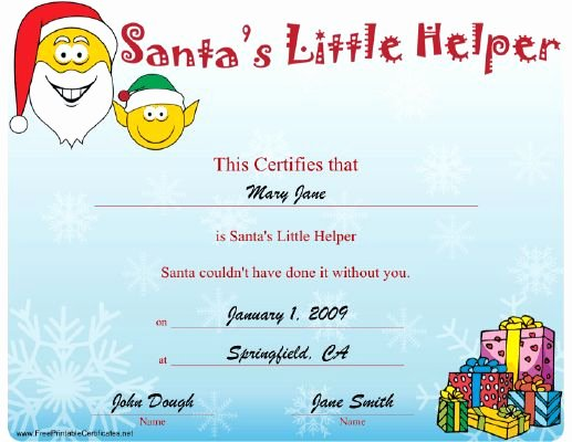 Christmas Award Certificate Template Unique 151 Best Images About Printables On Pinterest