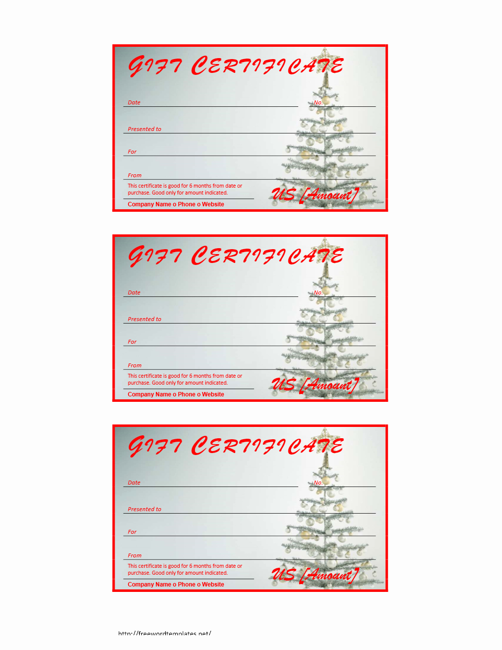 Christmas Gift Certificate Template Word Awesome Certificate Archives