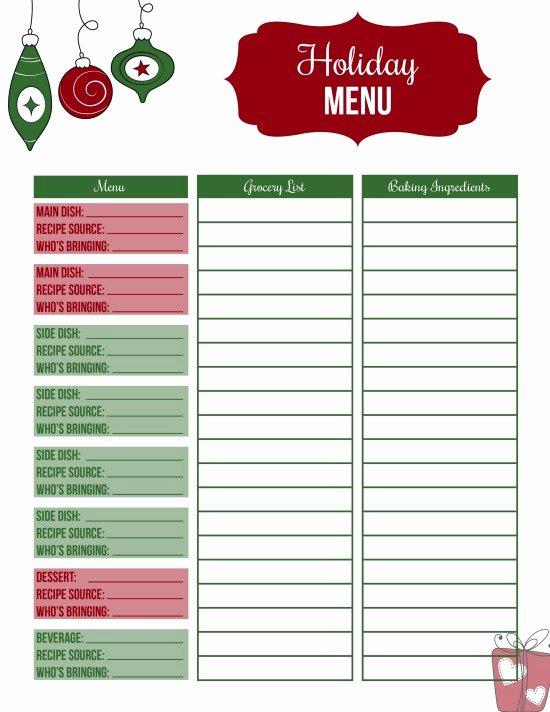 Christmas Potluck Sign Up Sheet Luxury Christmas Dinner Ideas Hoosier Homemade