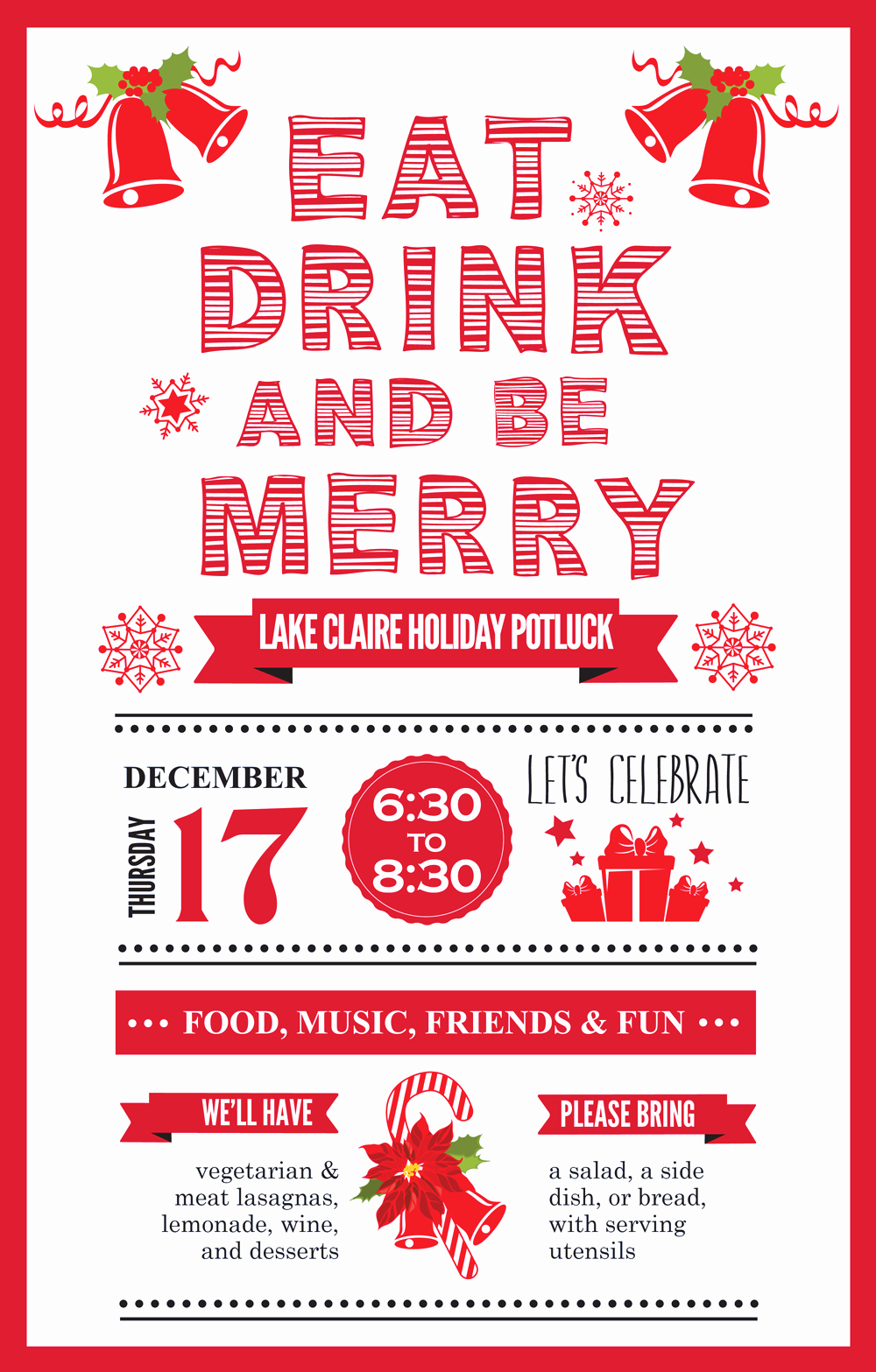 Christmas Potluck Sign Up Sheet Luxury Lake Claire Holiday Potluck 12 17 6 30 Pm – Lake Claire