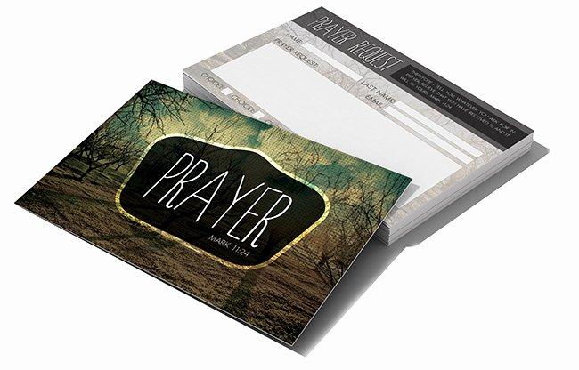 Church Visitor Card Template Generator Best Of Postcard Psd Template Prayer Request Digital316