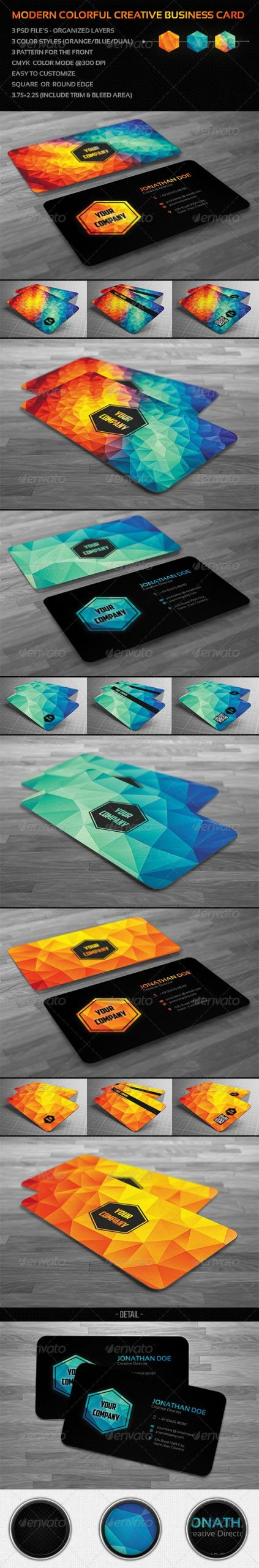 Church Visitor Card Template Generator Lovely Creative Modern Polygon Business Card by Badbugs
