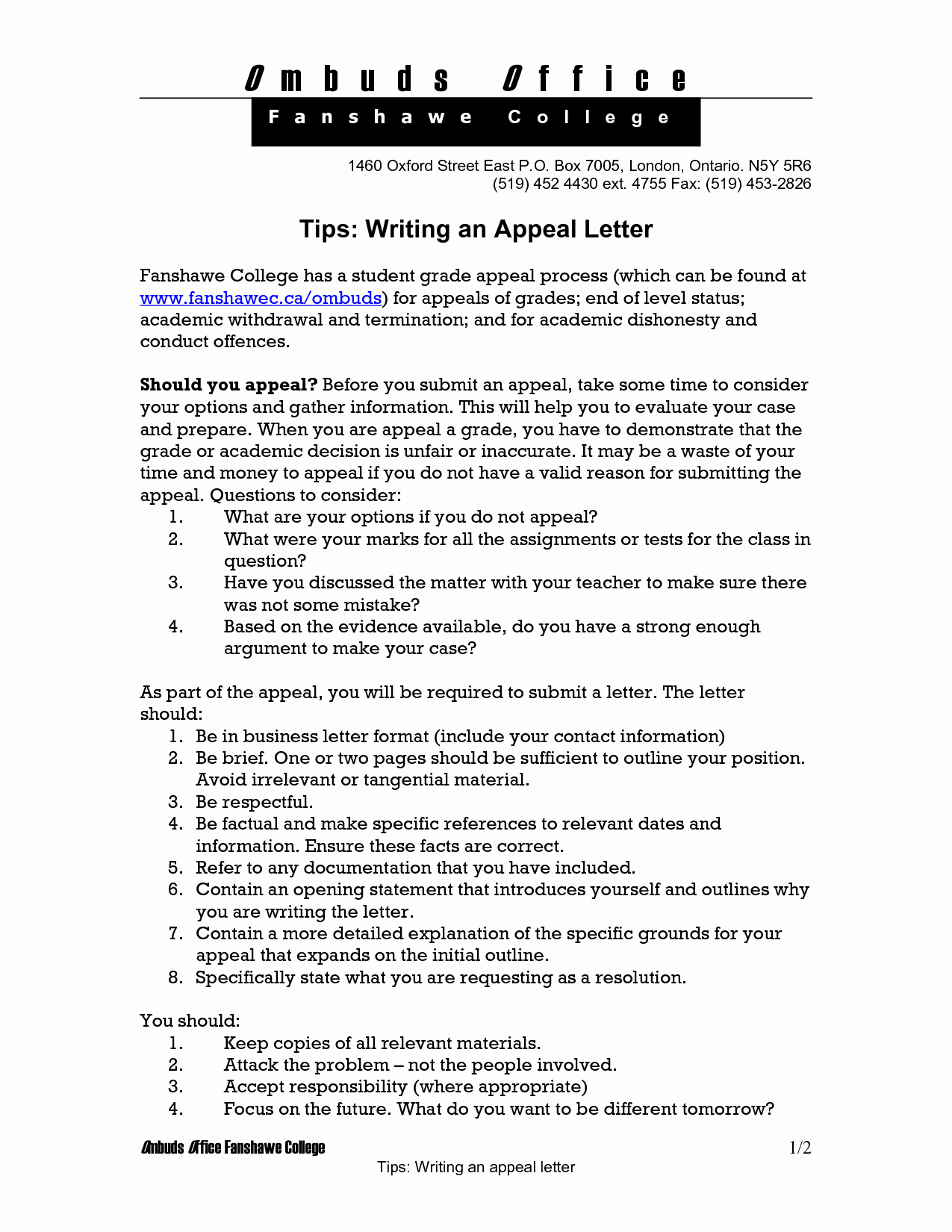 College Appeal Letter Example New Best S Of Examples Appeal Letters for College