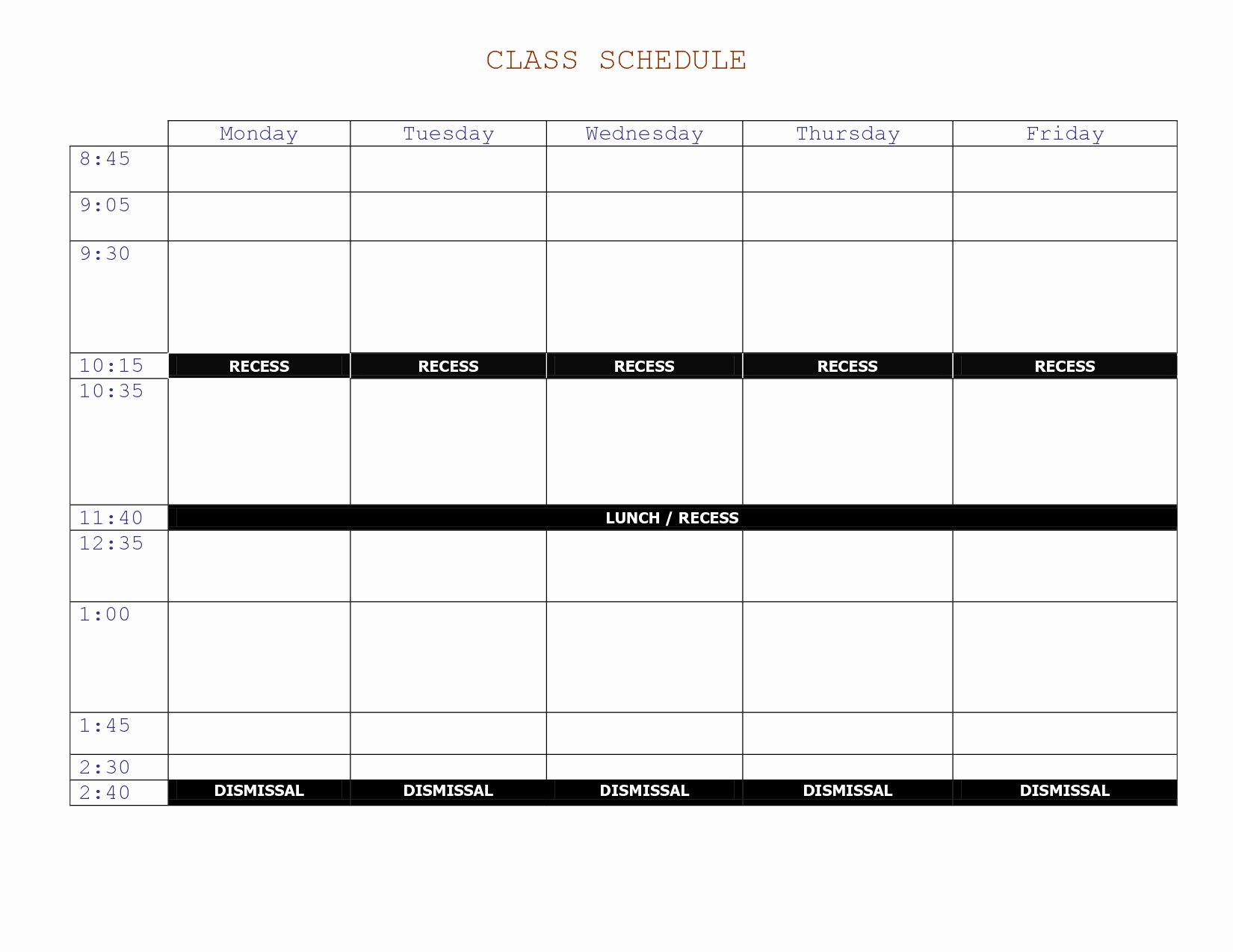 College Class Schedule Planner New Rutgers Course Schedule Planner