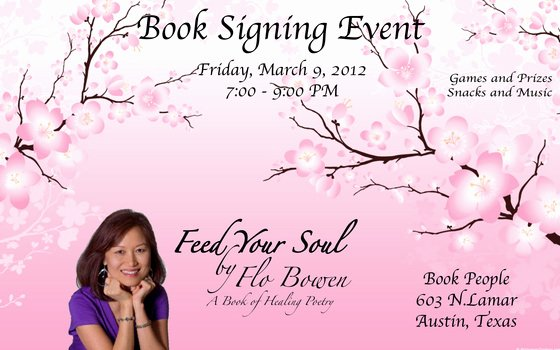 College Signing Day Certificate Template Luxury Feed Your soul Poetry Book Signing event Line
