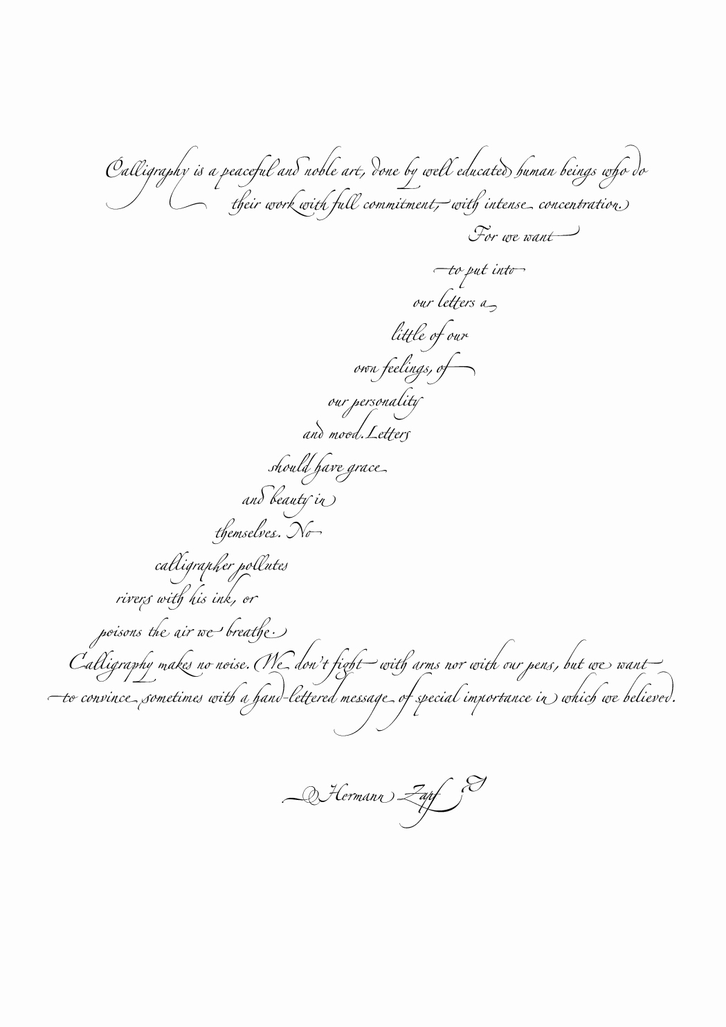 Commitment Letter for Work Beautiful Design Simon Griffee Time Light Movement and Distance