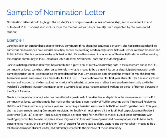 Community Service Award Template Best Of Sample Munity Service Letter 25 Download Free