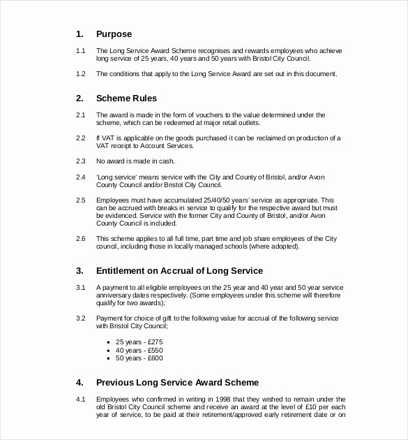 Community Service Award Template Best Of Service Award Template 10 Free Word Pdf Documents