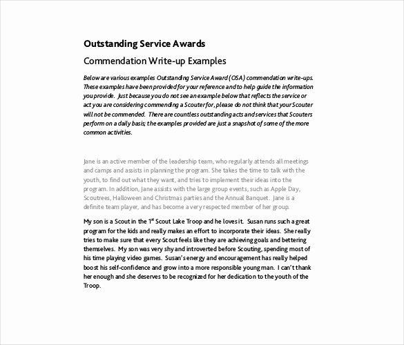 Community Service Award Template Lovely Service Award Template 10 Free Word Pdf Documents