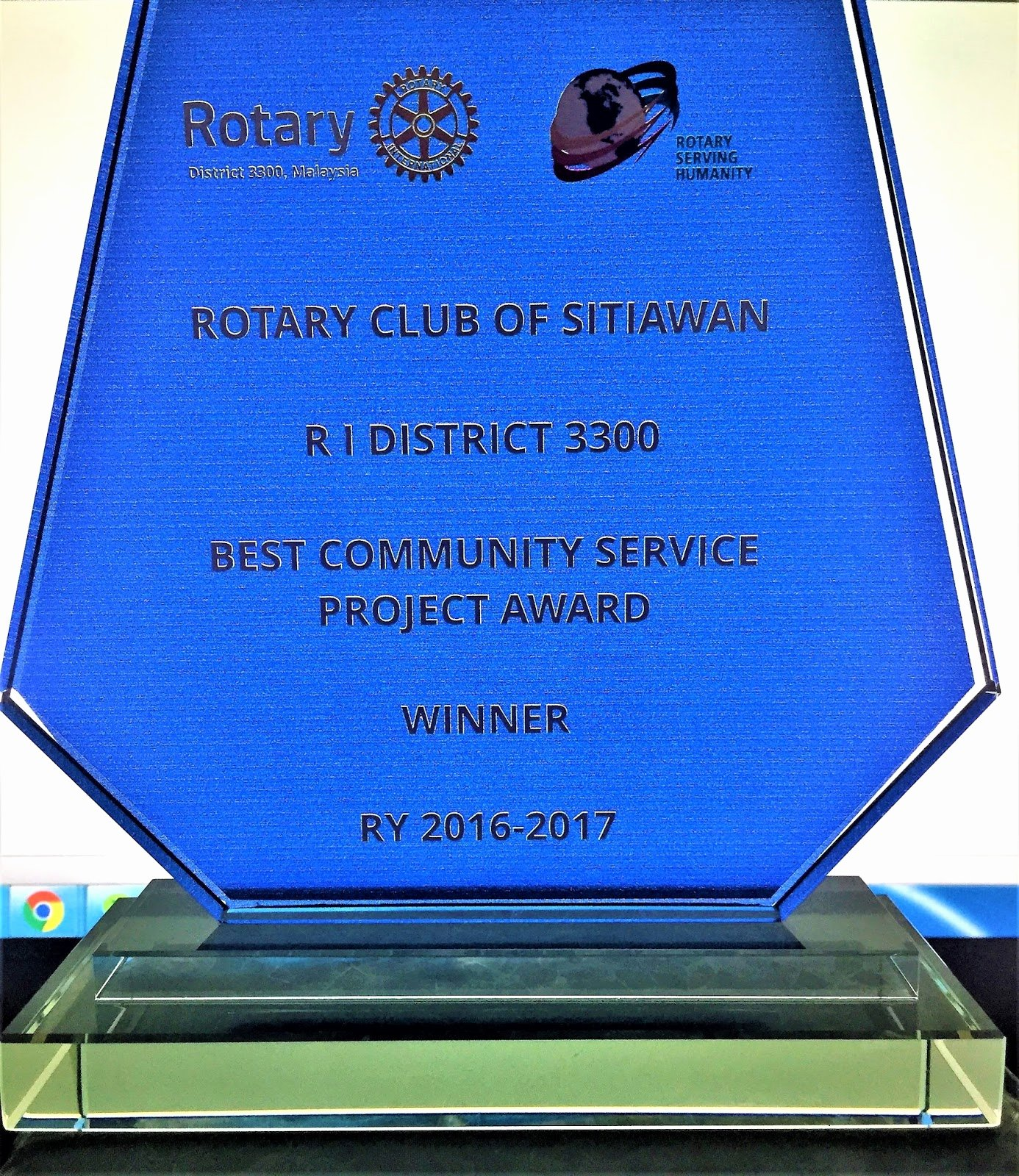 Community Service Award Template New Rotary Club Of Sitiawan Chartered On 16 03 1961 2017