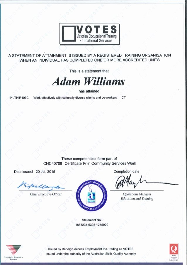 Community Service Certificate Template Awesome Certificate 4 In Munity Services