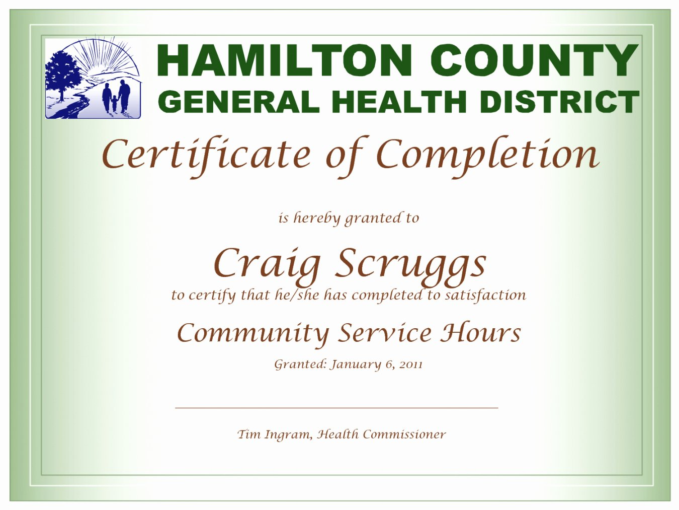 Community Service Certificate Template Lovely Munity Service Hours Certificate Template