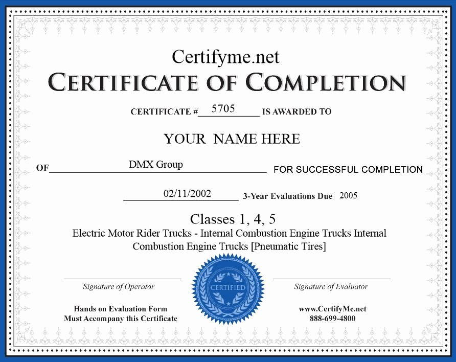 Confined Space Certificate Template Beautiful Best S Of Osha Certificate Template Osha Training