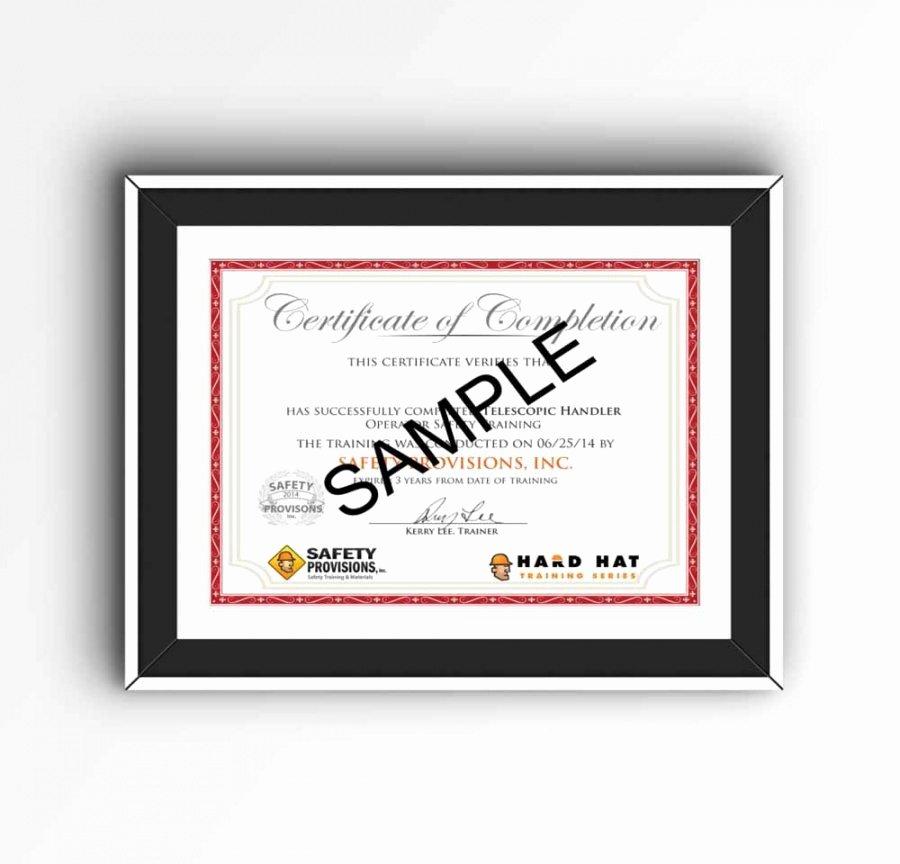 Confined Space Certificate Template Luxury Editable Confined Space Training Certificate Template K U